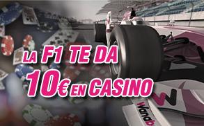 apuestas F1 Casino