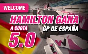 supercuota wanabet formula 1 Hamilton