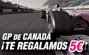 apuestas Formula 1 Canada