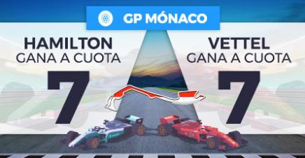 apuestas formula1 Supercuota Paston GP Mónaco Hamilton v Vettel