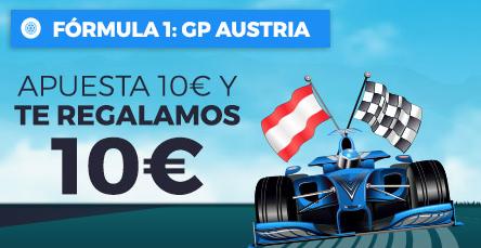 apuestas formula 1 Paston Formula 1 GP Austria Apuesta 10€ y te regalamos 10€