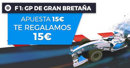 apuestas formula 1 Paston f1 Gp de Gran Bretaña, Apuesta 15€ y te regalamos 15€